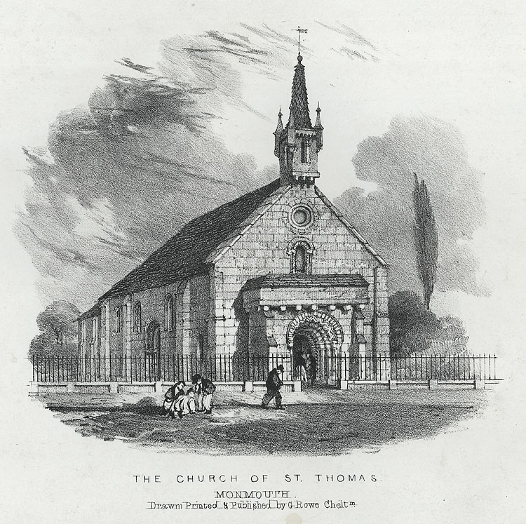 The Church of St. Thomas, Monmouth