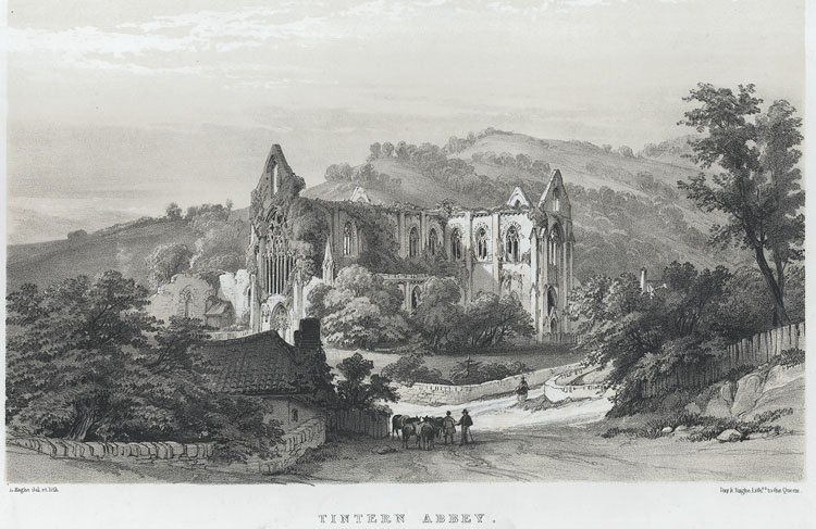 Tintern Abbey, from the Priory