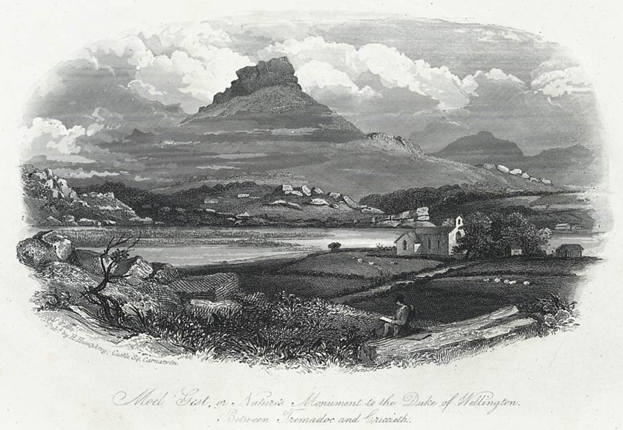 Moel Gest, or, Nature's monument to the Duke of Wellington