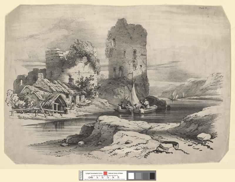 Flint Castle. N.W