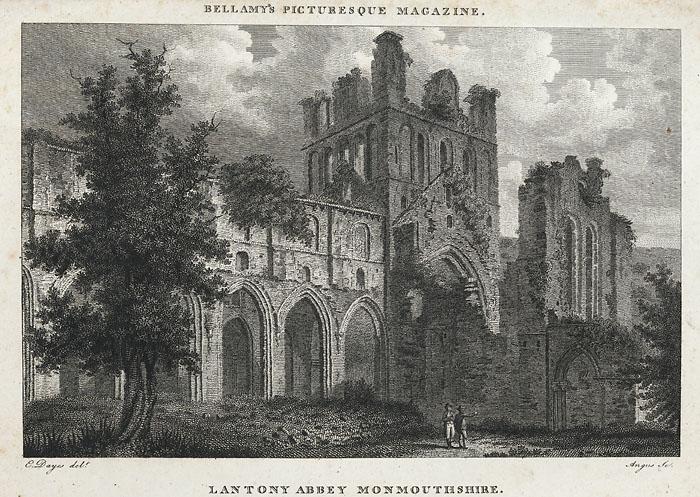 Lantony Abbey, Monmouthshire