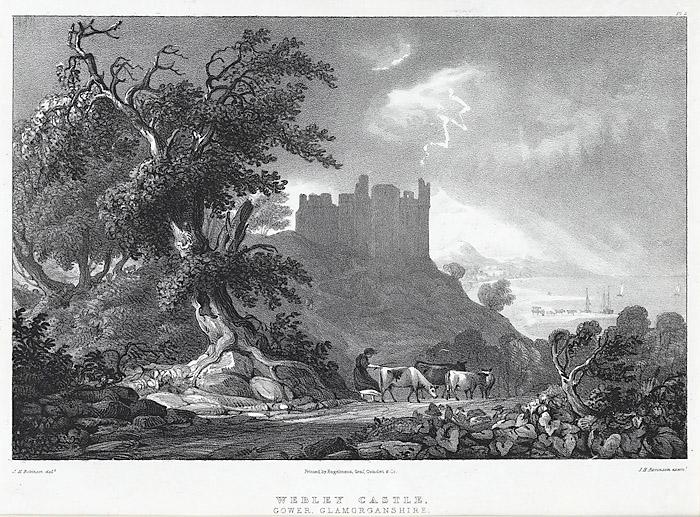 Webley castle, Gower, Glamorganshire