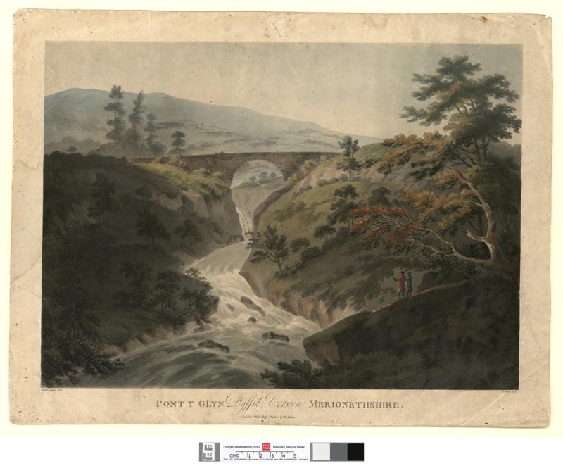 Pont y Glyn Dyffid, Corwen, Merionethshire