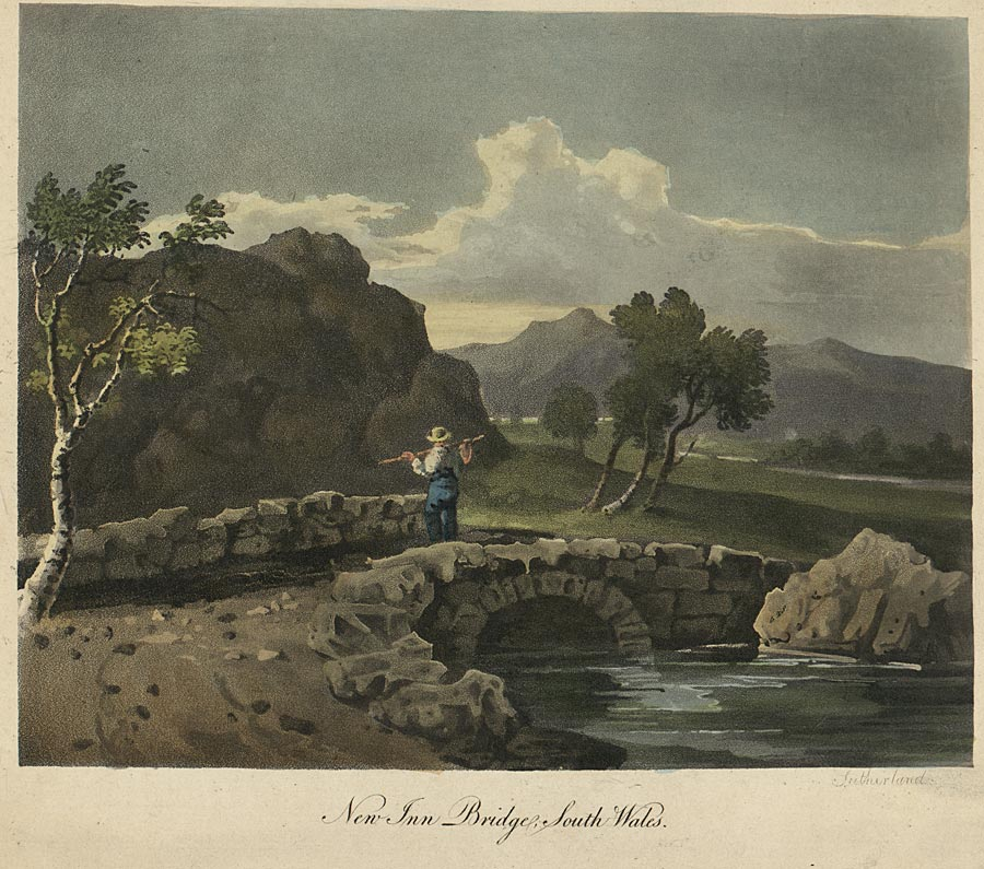 New Inn Bridge, South Wales
