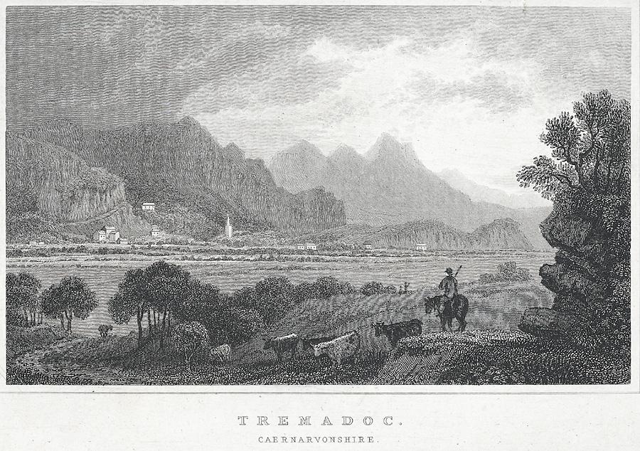 Tremadoc. Caernarvonshire