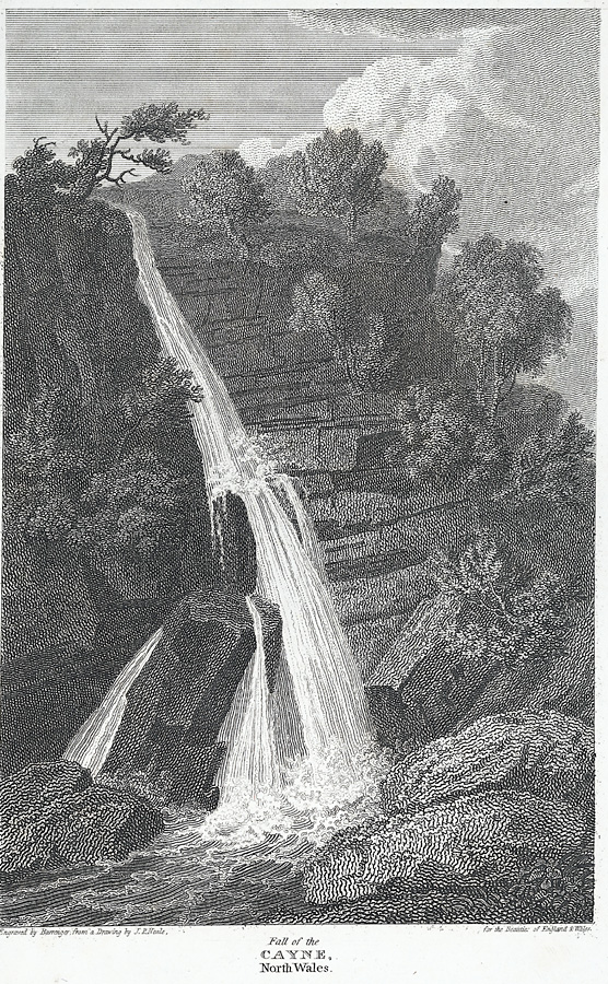 Fall of the Cayne, north Wales