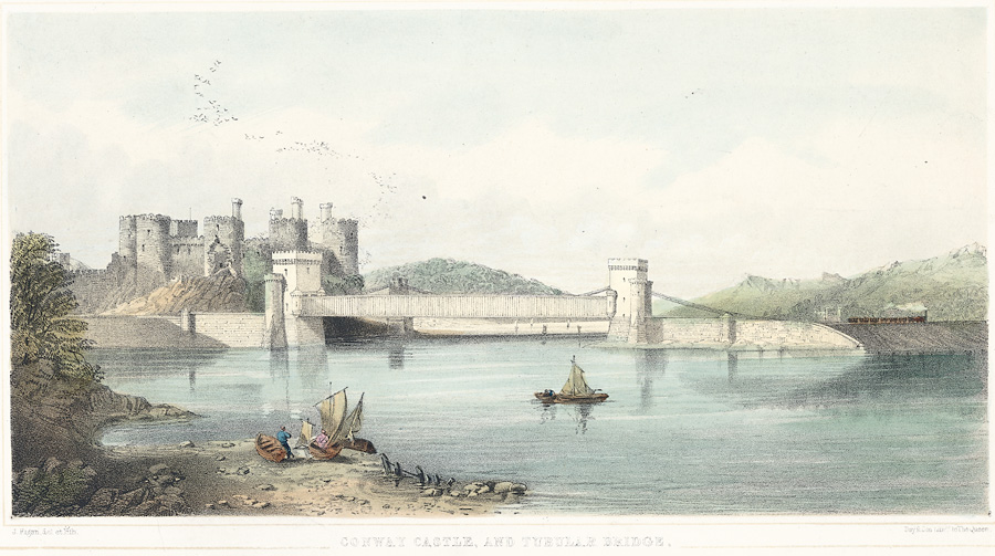 Conway Castle, and Tubular Bridge
