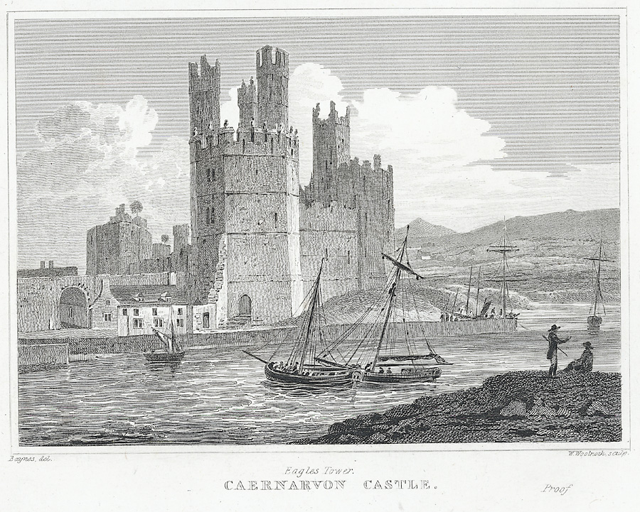 Eagles Tower, Caernarvon Castle