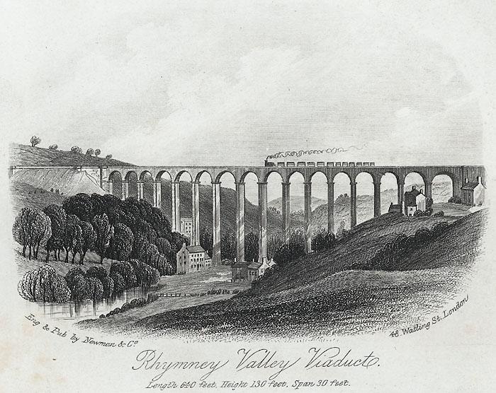 Rhymney valley viaduct