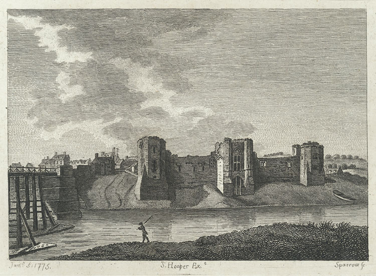 Newport Castle, or, the New Castle Upon Usk, Monmouthshire