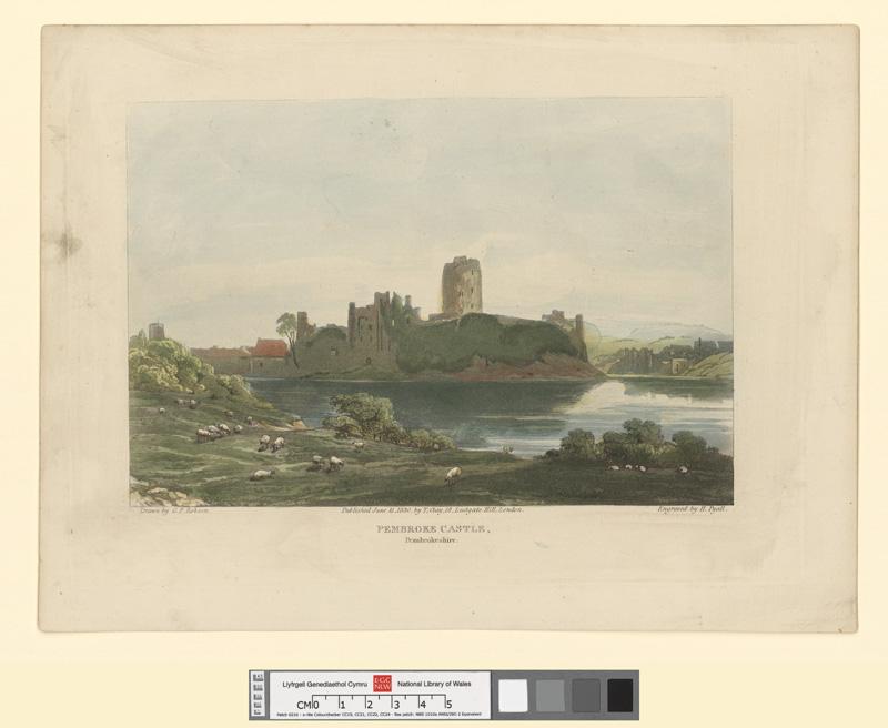 Pembroke Castle, Pembrokeshire June 15 1830