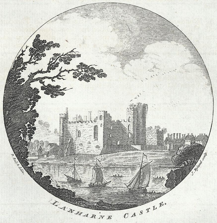 Lanharne Castle (sic)