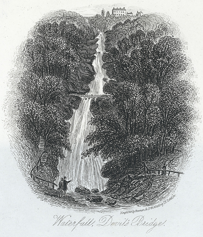 Waterfall, Devil's Bridge