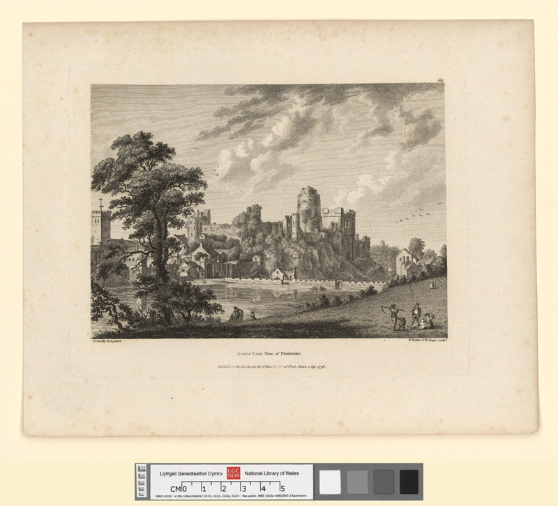 North East View of Pembroke 1 Sept. 1778