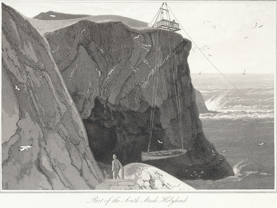 Part of the South Stack, Holyhead