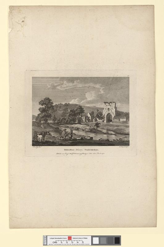 Hubberstone Priory, Pembrokeshire Decr 1 1778