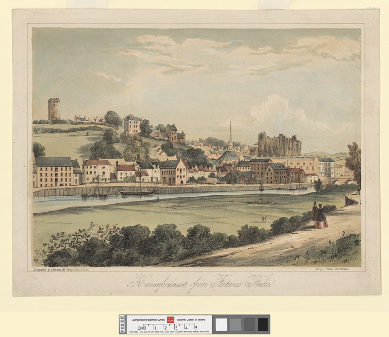 Haverfordwest, from Fortunes Frolic