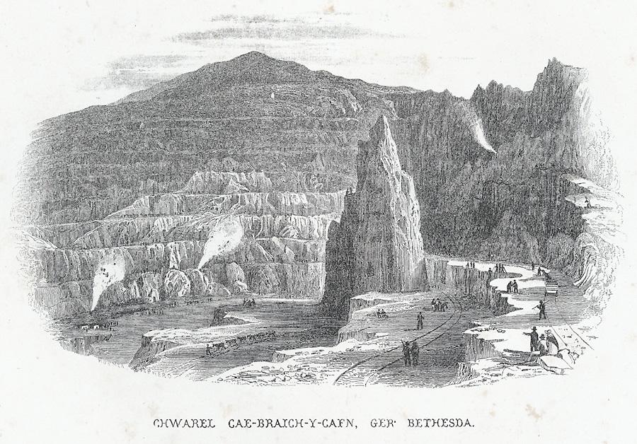 Chwarel Cae-Braich-Y-Cafn, Ger Bethesda