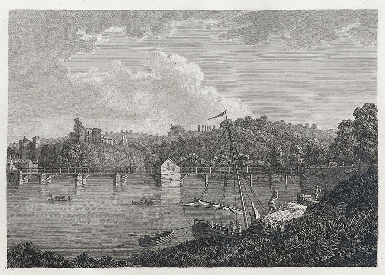 [The Bridge and Castle at Chepstow]