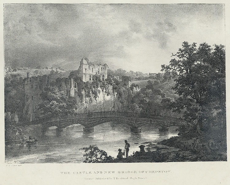 The Castle and new bridge of Chepstow
