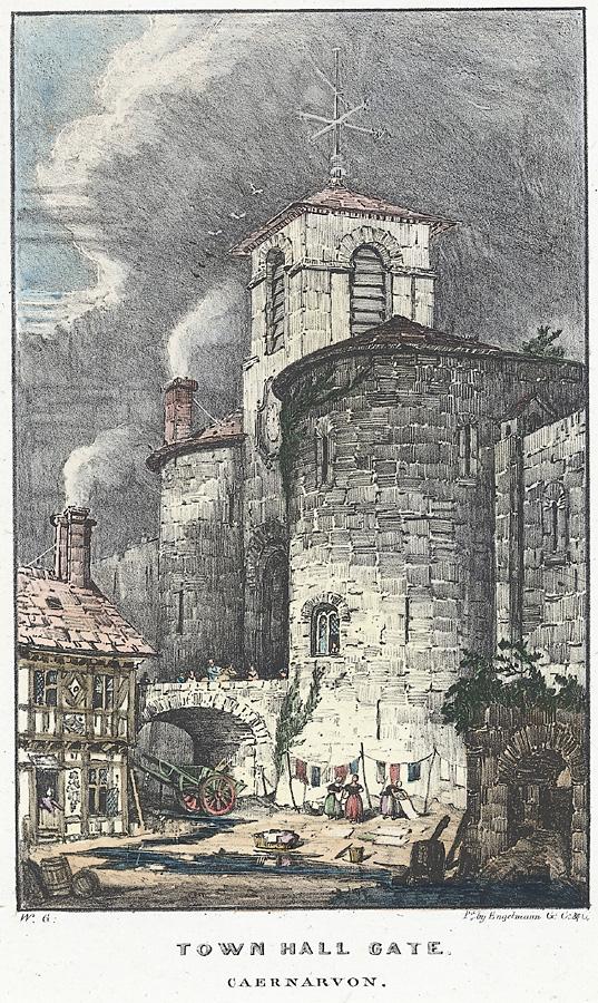 Town Hall gate, Caernarvon
