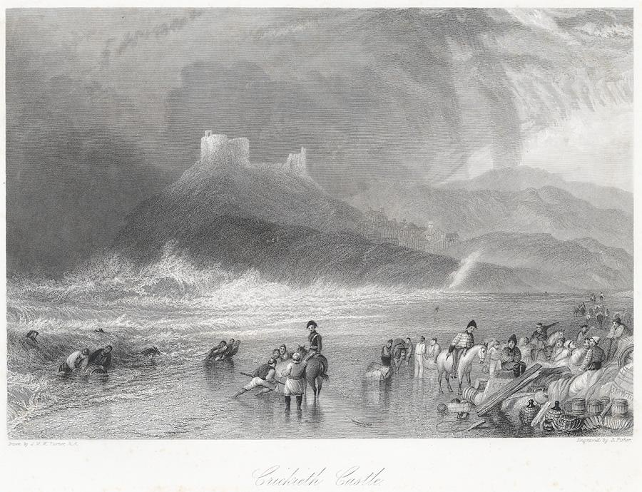 Crickieth [i.e Criccieth] Castle north Wales