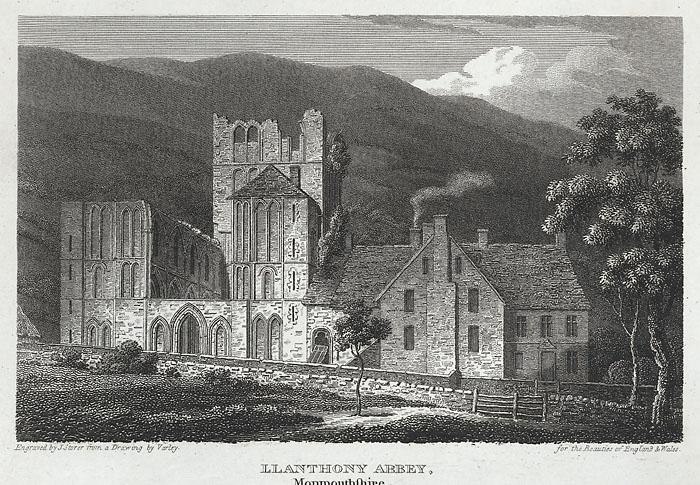 Llanthony Abbey, Monmouthshire