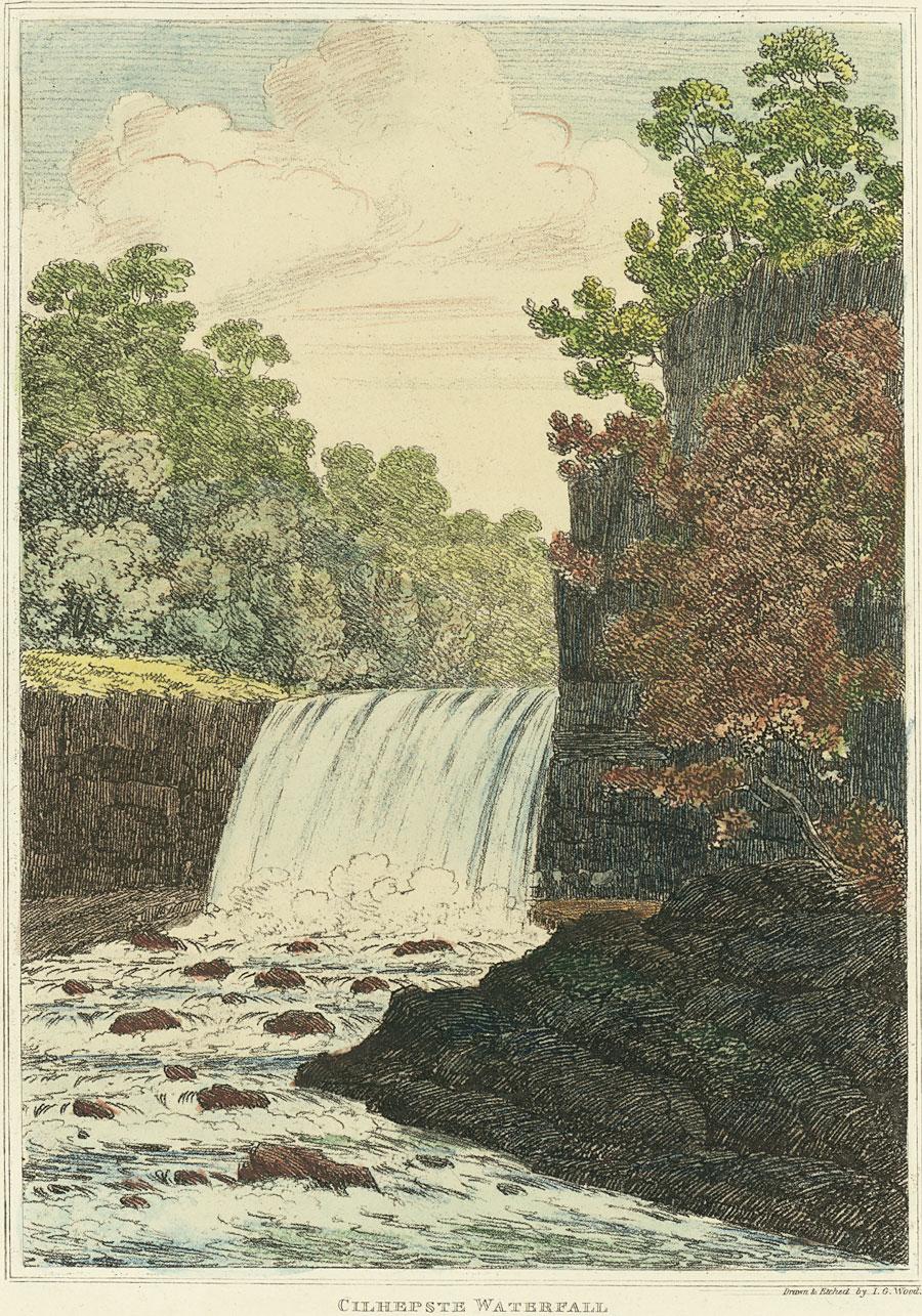 Cilhepste Waterfall