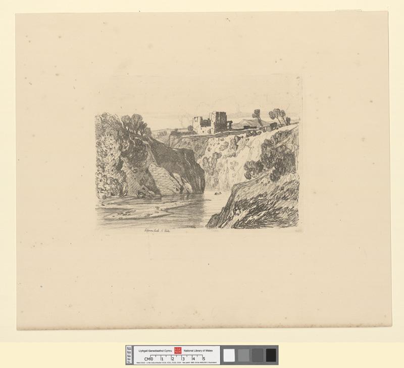Kilgarren castle, N. Wales