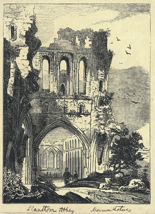 Llanthony Abbey Monmouthshire