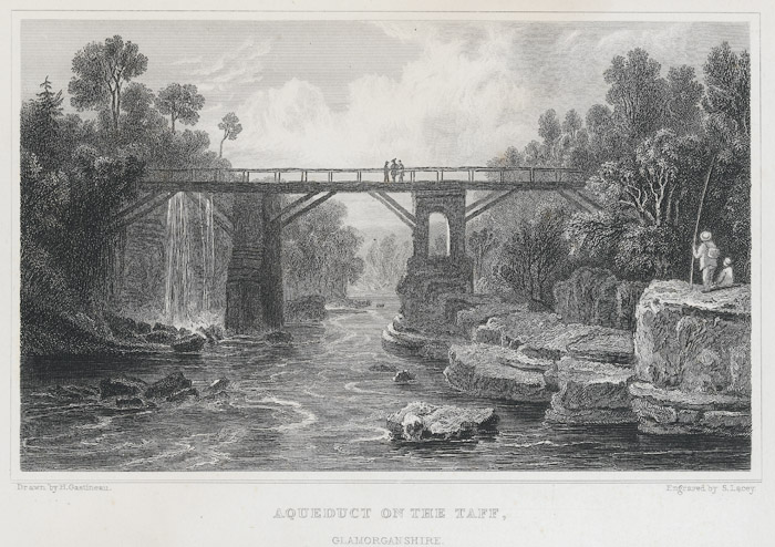 Aqueduct on the Taff, Glamorganshire