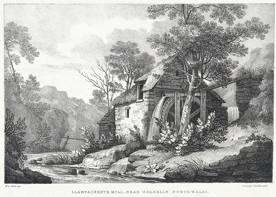 Llanfachreth Mill, near Dollgelly, North Wales