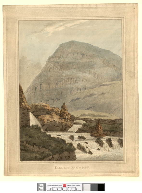 Snowden Hill, and the ..- Le Montagne De Snowden