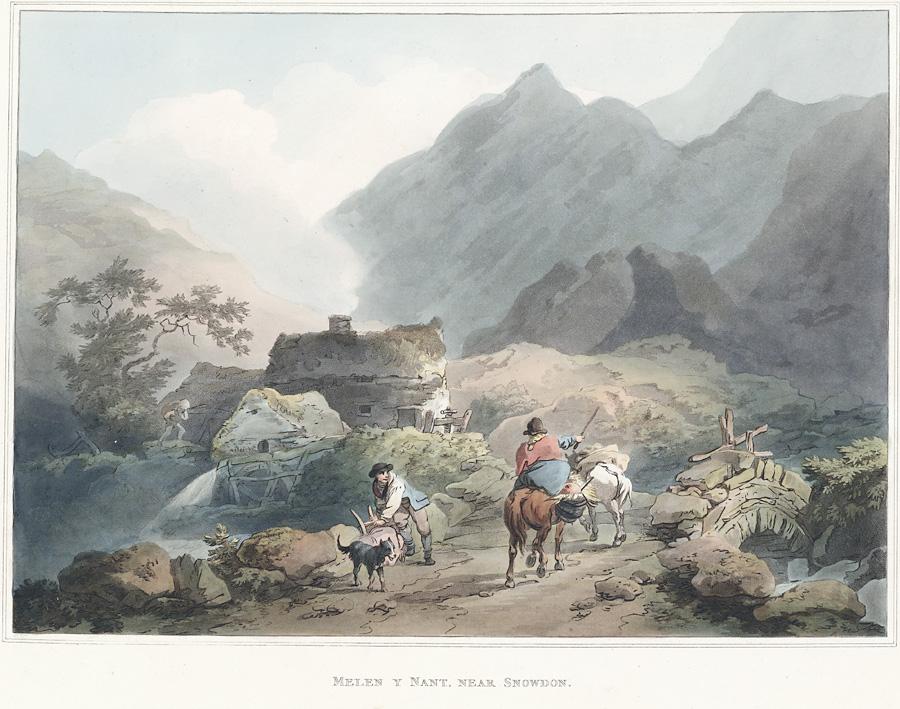 Melen[i.e. Melin] Y Nant, Near Snowdon