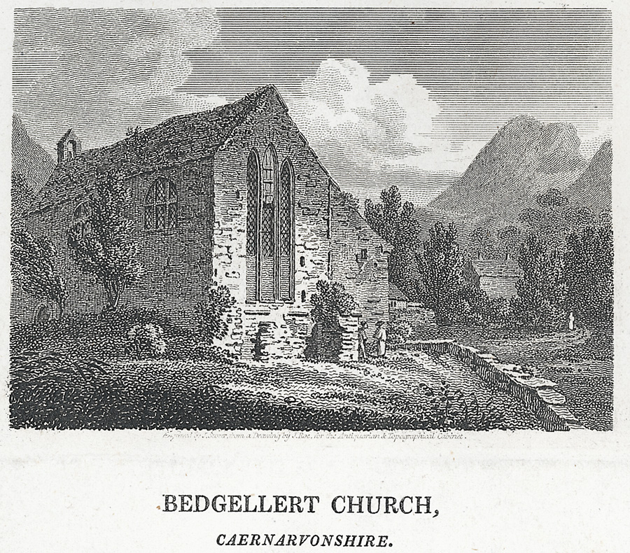 Bedgellert Church, Caernarvonshire