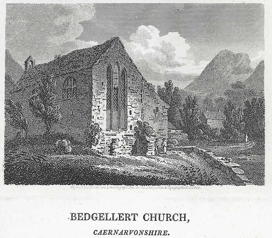 Bedgellert Church, Caernarvonshire
