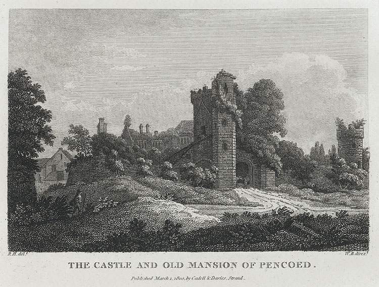 The Castle and Old Mansion of Pencoed