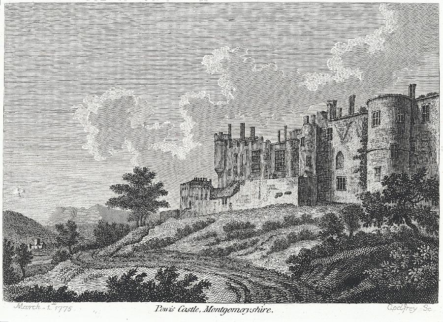 Powis Castle, Montgomeryshire