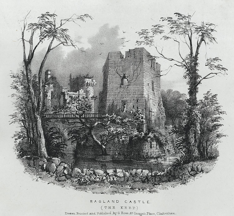 Ragland Castle. The Keep