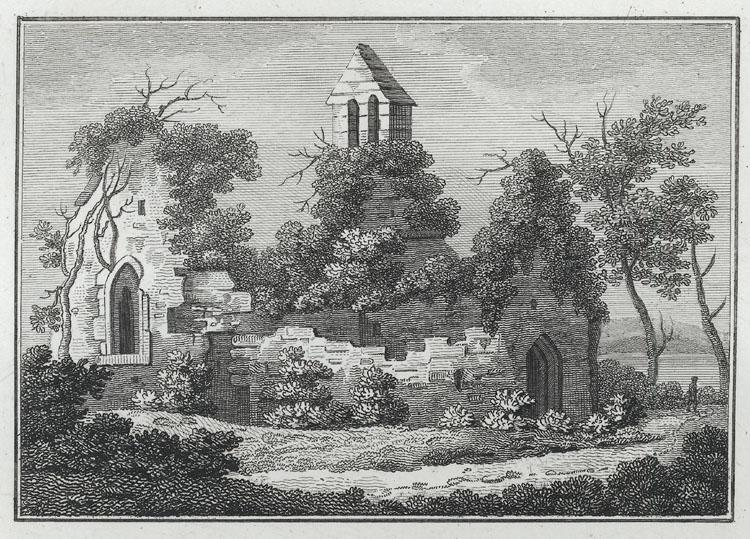 [Sudbrook Chapel & the Keep off Caldicot Castle]
