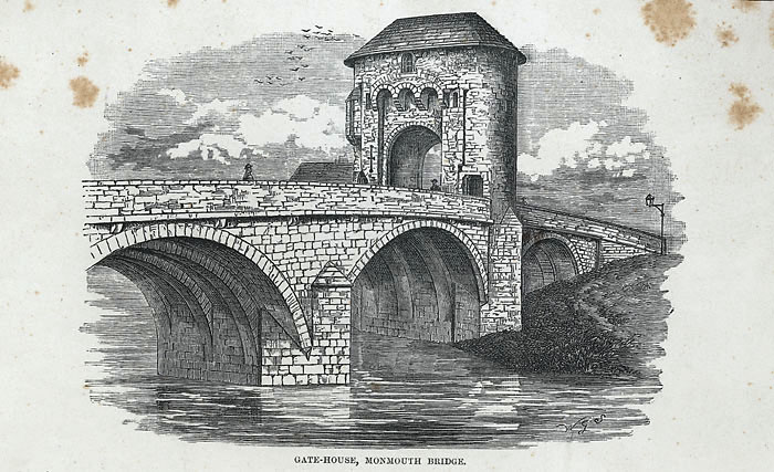 Gate-house, Monmouth bridge