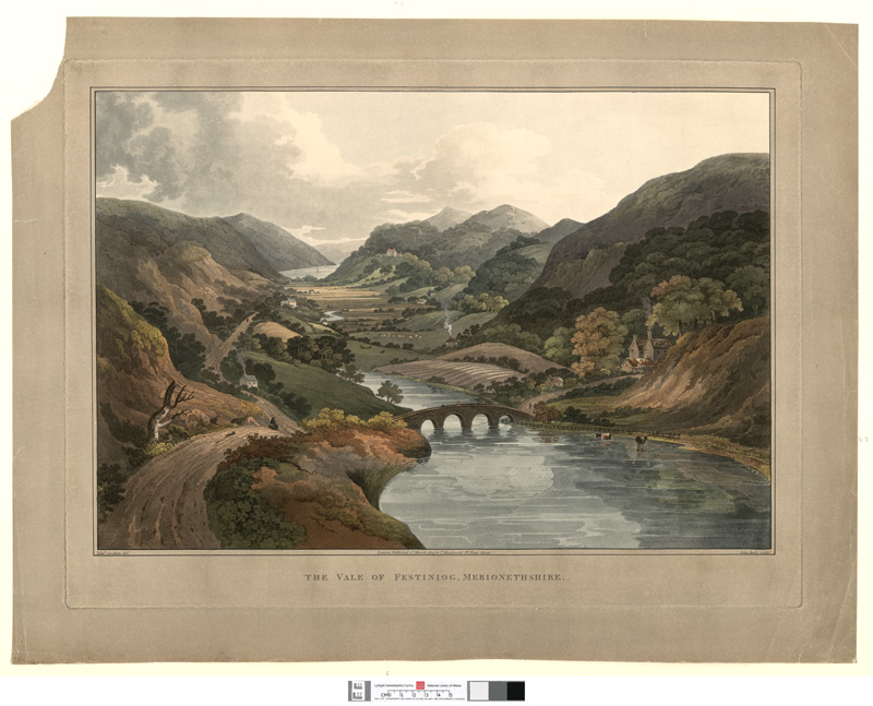 The Vale of Festiniog, Merionethshire