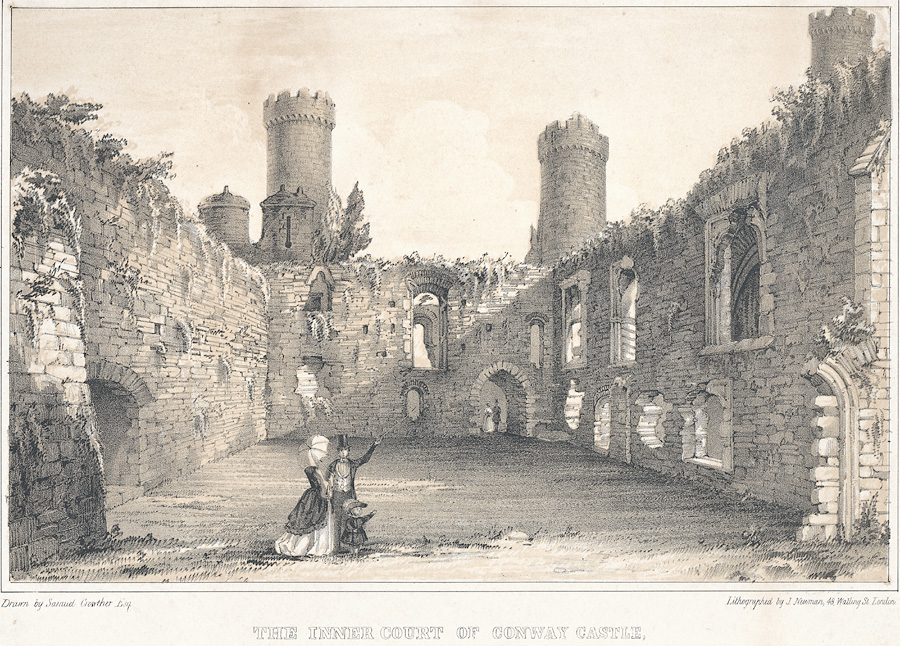 The Inner Court Of Conway Castle