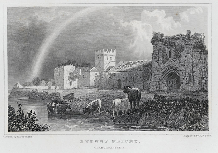 Ewenny Priory, Glamorganshire