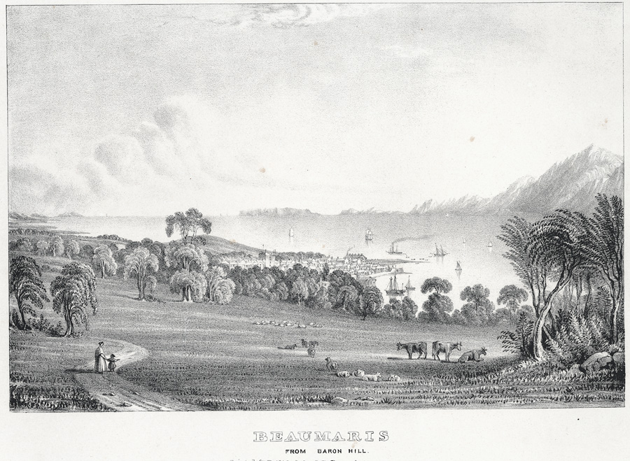 Beaumaris from Baron Hill