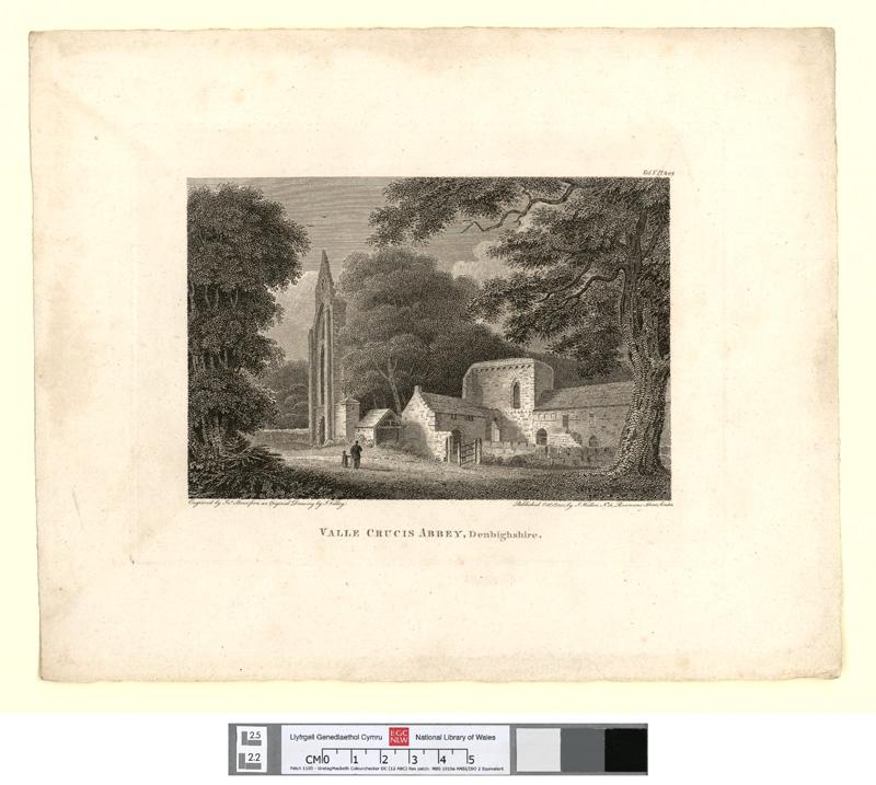Valle Crucis Abbey, Denbighshire Oct. 1st 1800