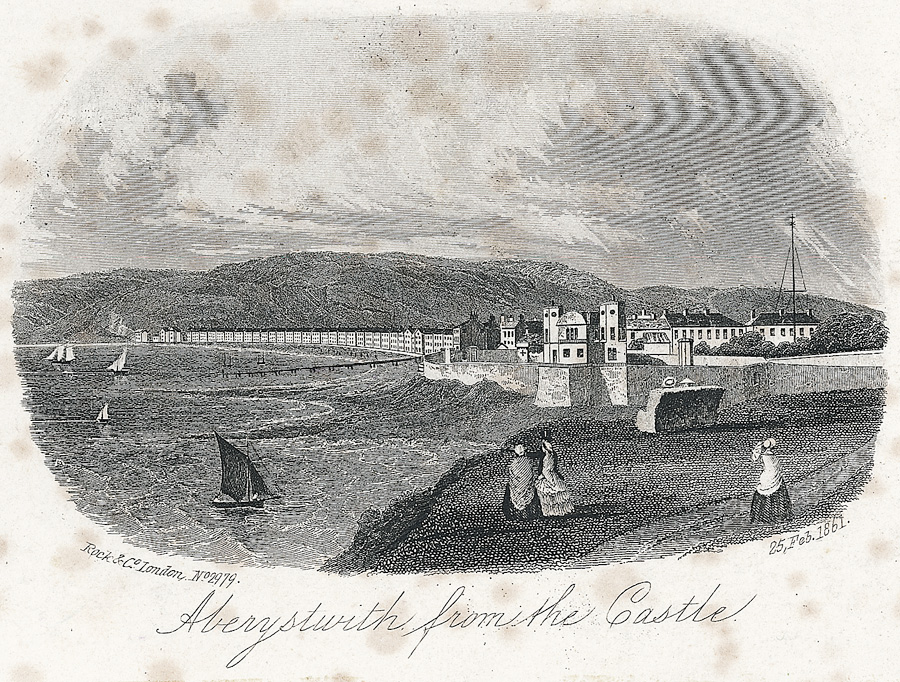 Aberystwith from the Castle