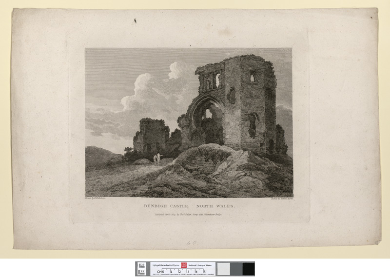 Denbigh castle, north Wales