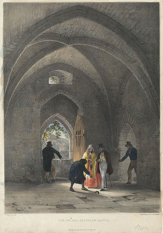 The Prison, Chepstow Castle