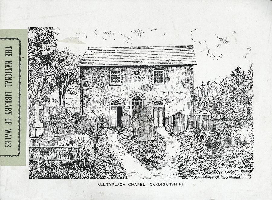 Alltyplaca Chapel, Cardiganshire